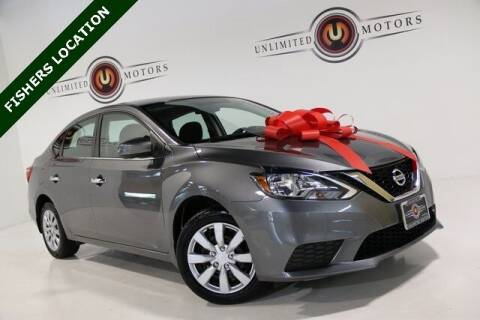 2016 Nissan Sentra for sale at Unlimited Motors in Fishers IN