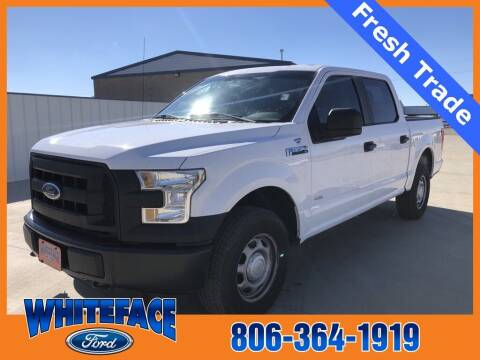 2015 Ford F-150 for sale at Whiteface Ford in Hereford TX