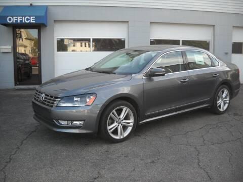 2014 Volkswagen Passat for sale at Best Wheels Imports in Johnston RI