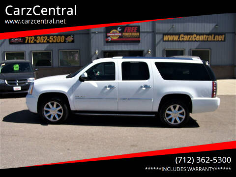 2012 GMC Yukon XL for sale at CarzCentral in Estherville IA