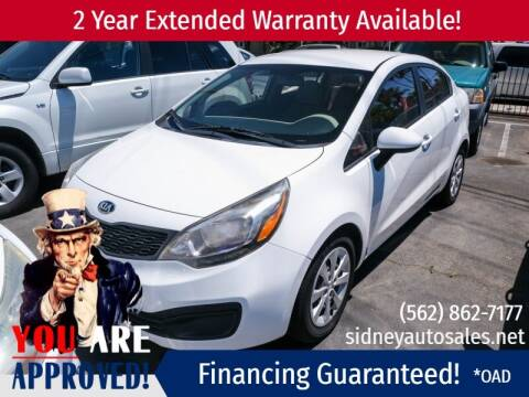 2013 Kia Rio for sale at Sidney Auto Sales in Downey CA