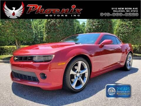 2014 Chevrolet Camaro for sale at Phoenix Motors Inc in Raleigh NC