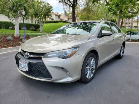 2015 Toyota Camry for sale at E MOTORCARS in Fullerton CA