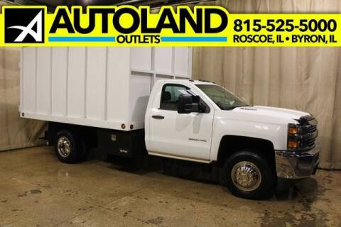 2015 Chevrolet Silverado 3500HD Covered Dump  for sale at AutoLand Outlets Inc in Roscoe IL