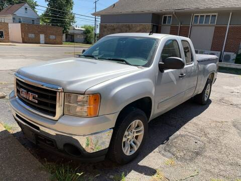 2011 GMC Sierra 1500 for sale at USA AUTO WHOLESALE LLC in Cleveland OH