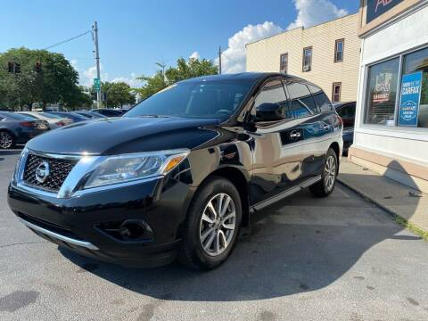 2013 Nissan Pathfinder for sale at ADAM AUTO AGENCY in Rensselaer NY