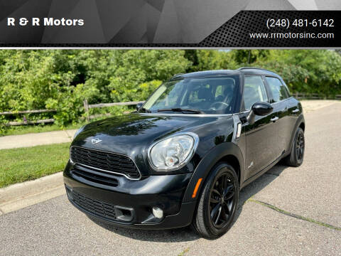 2014 MINI Countryman for sale at R & R Motors in Waterford MI