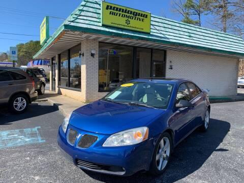 2007 Pontiac G6 for sale at Diana Rico LLC in Dalton GA