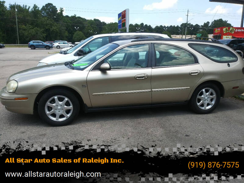 2000 Mercury Sable for sale at All Star Auto Sales of Raleigh Inc. in Raleigh NC