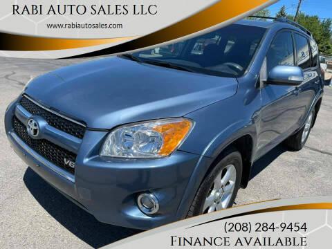 2010 Toyota RAV4 for sale at RABI AUTO SALES LLC in Garden City ID