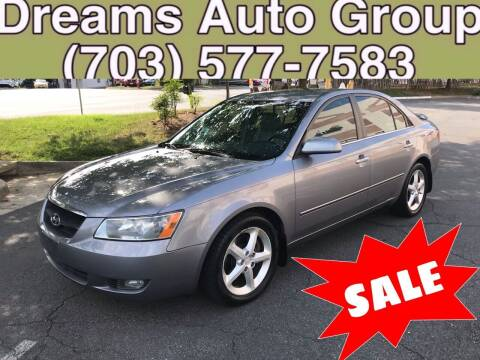 2006 Hyundai Sonata for sale at Dreams Auto Group LLC in Sterling VA