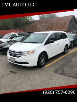 2011 Honda Odyssey for sale at TML AUTO LLC in Appleton WI