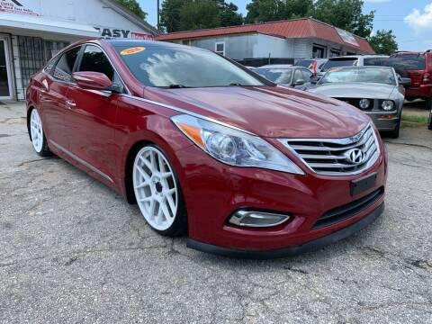 2014 Hyundai Azera for sale at SR Motors Inc in Gainesville GA
