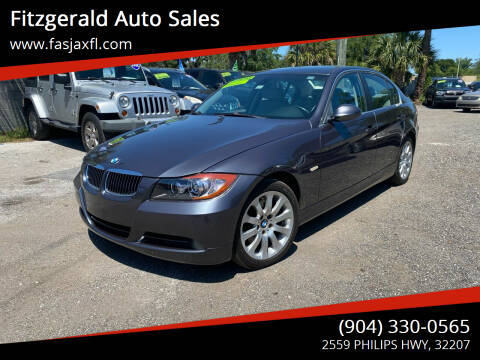 2006 BMW 3 Series for sale at Fitzgerald Auto Sales in Jacksonville FL