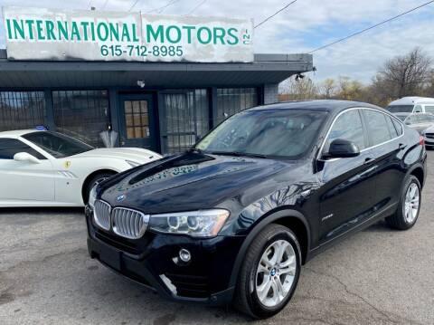 2016 BMW X4 for sale at International Motors Inc. in Nashville TN