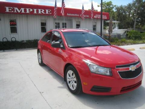 2014 Chevrolet Cruze for sale at Empire Automotive Group Inc. in Orlando FL