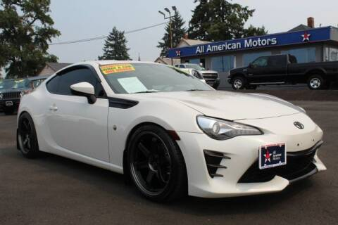 2017 Toyota 86 for sale at All American Motors in Tacoma WA