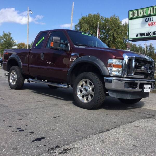 2009 Ford F-350 Super Duty for sale at Giguere Auto Wholesalers in Tilton NH