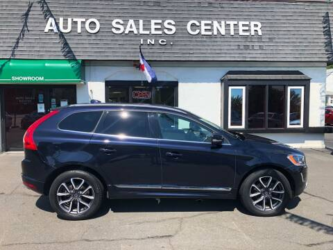 2017 Volvo XC60 for sale at Auto Sales Center Inc in Holyoke MA