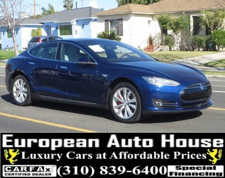 2015 Tesla Model S for sale at European Auto House in Los Angeles CA