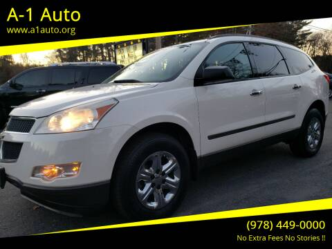 2011 Chevrolet Traverse for sale at A-1 Auto in Pepperell MA