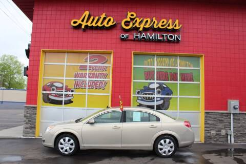 2009 Saturn Aura for sale at AUTO EXPRESS OF HAMILTON LLC in Hamilton OH
