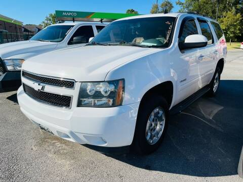 2014 Chevrolet Tahoe for sale at BRYANT AUTO SALES in Bryant AR