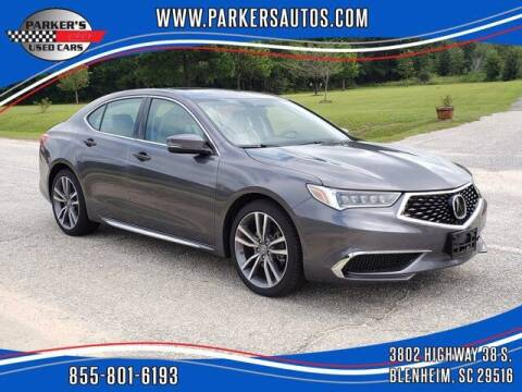 2019 Acura TLX for sale at Parker's Used Cars in Blenheim SC