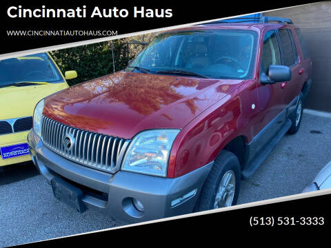 2005 Mercury Mountaineer for sale at Cincinnati Auto Haus in Cincinnati OH