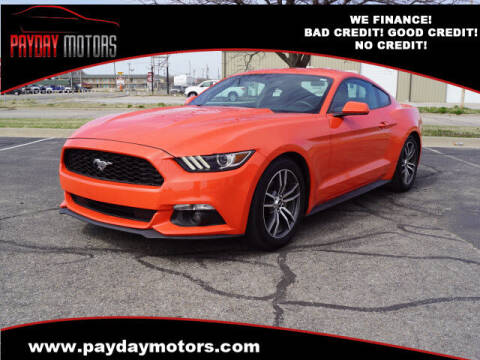 2016 Ford Mustang for sale at Payday Motors in Wichita And Topeka KS