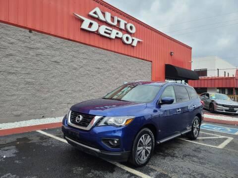 2018 Nissan Pathfinder for sale at Auto Depot - Nashville in Nashville TN