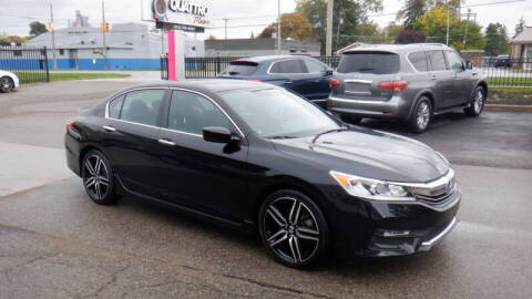 2017 Honda Accord for sale at Quattro Motors 2 - 1 in Redford MI