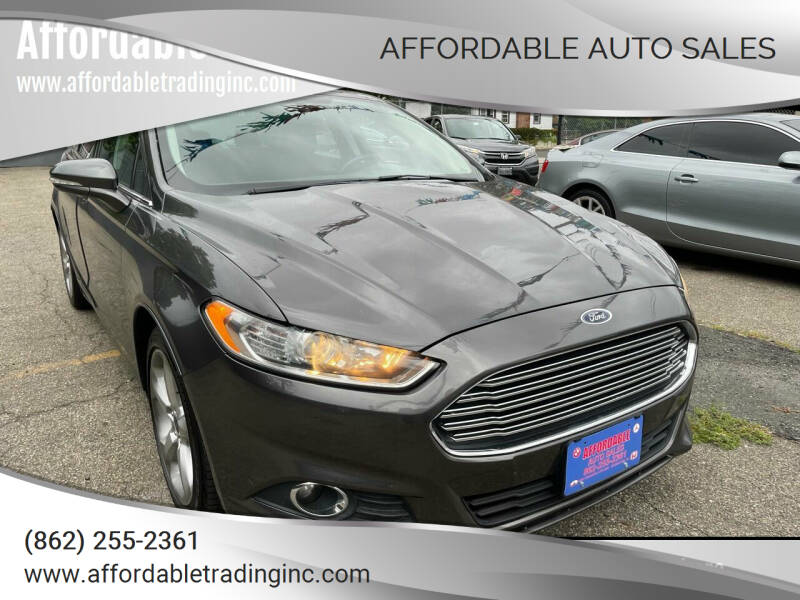 2016 Ford Fusion for sale at Affordable Auto Sales in Irvington NJ