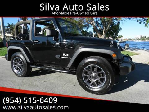 2009 Jeep Wrangler for sale at Silva Auto Sales in Pompano Beach FL