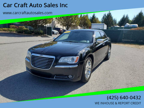 2013 Chrysler 300 for sale at Car Craft Auto Sales Inc in Lynnwood WA
