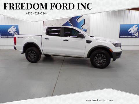 2020 Ford Ranger for sale at Freedom Ford Inc in Gunnison UT