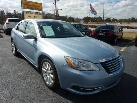 2014 Chrysler 200 for sale at Roswell Auto Imports in Austell GA
