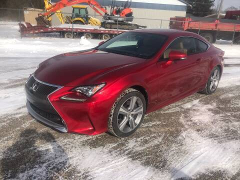 2015 Lexus RC 350 for sale at ONG Auto in Farmington MN