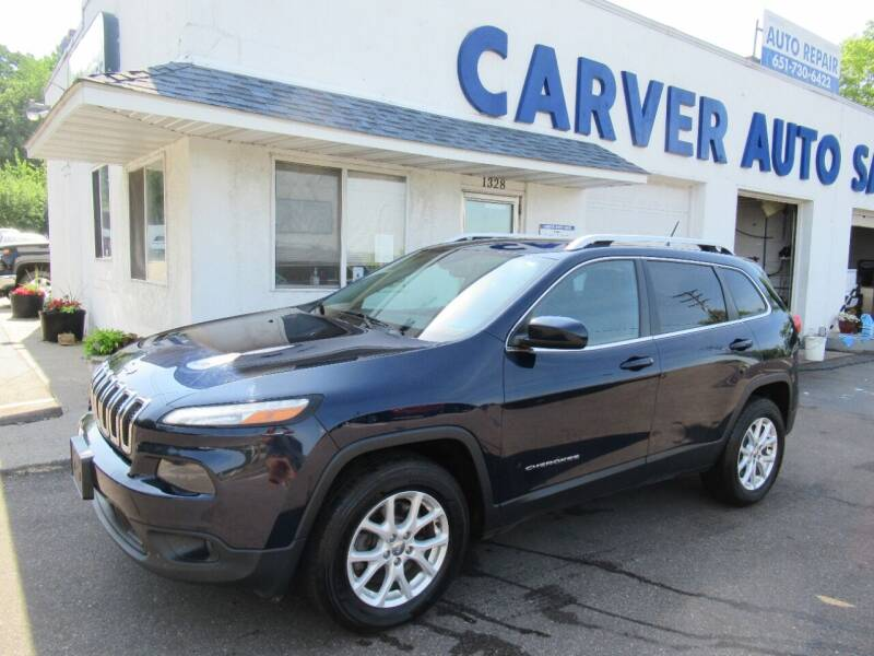2014 Jeep Cherokee for sale at Carver Auto Sales in Saint Paul MN