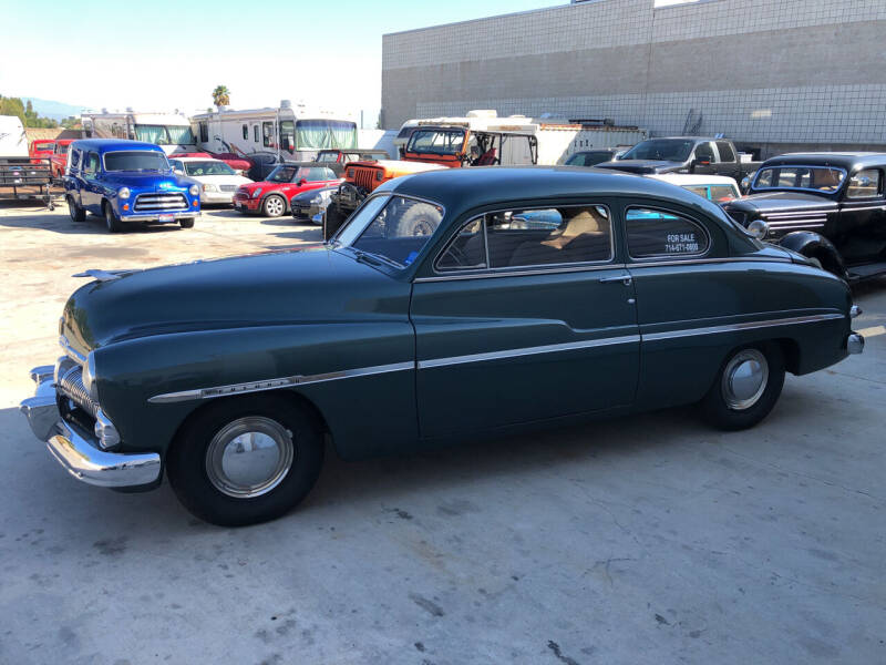 1950 Mercury 2 Door Coupe for sale at HIGH-LINE MOTOR SPORTS in Brea CA