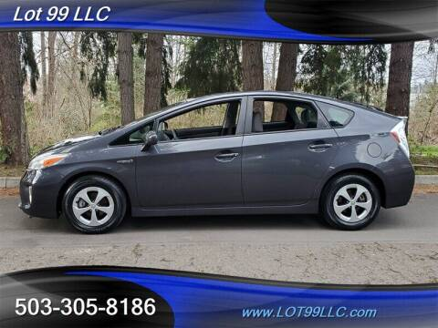 2012 Toyota Prius for sale at LOT 99 LLC in Milwaukie OR