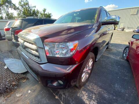 2008 Toyota Sequoia for sale at Auto Solutions in Warr Acres OK