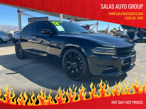 2016 Dodge Charger for sale at Salas Auto Group in Indio CA