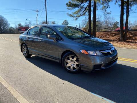 2011 Honda Civic for sale at THE AUTO FINDERS in Durham NC