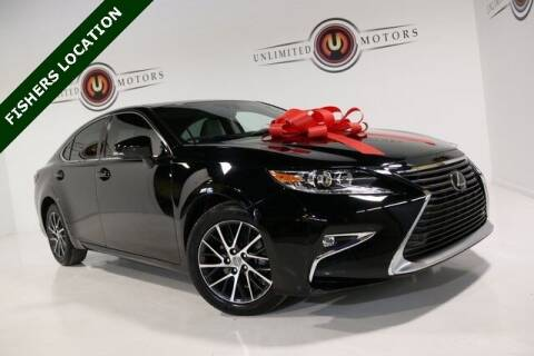 2017 Lexus ES 350 for sale at Unlimited Motors in Fishers IN