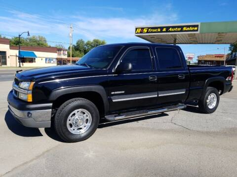 2003 Chevrolet Silverado 1500HD for sale at R & S TRUCK & AUTO SALES in Vinita OK
