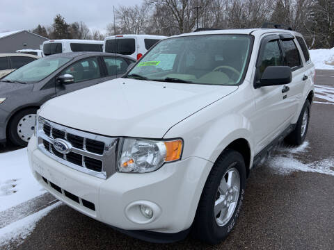 2012 Ford Escape for sale at Blake Hollenbeck Auto Sales in Greenville MI