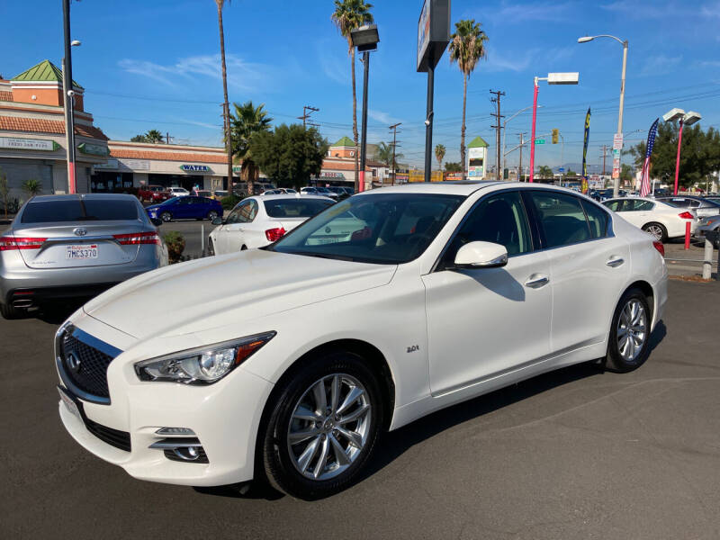 2017 Infiniti Q50 for sale at Pacific West Imports in Los Angeles CA