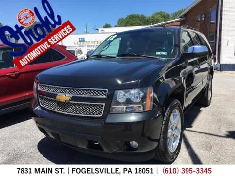 2012 Chevrolet Tahoe for sale at Strohl Automotive Services in Fogelsville PA