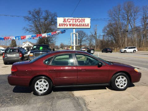 2007 Ford Taurus for sale at Action Auto Wholesale in Painesville OH